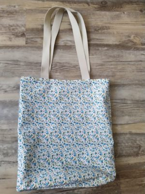 Grand tote bag réversible